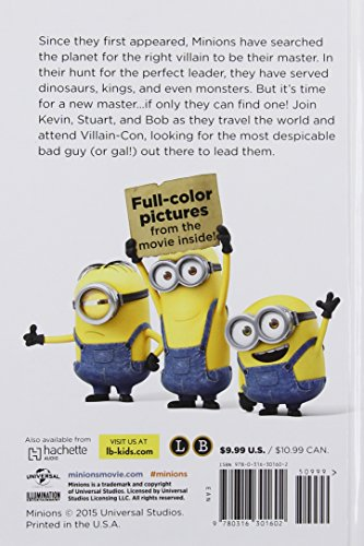 Minions. The Deluxe Junior Novel