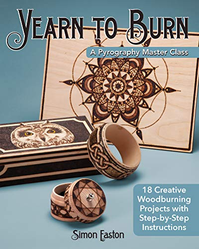 ography Master Class: 30 Creative Woodburning Projects with Step-by-Step Instructions ()