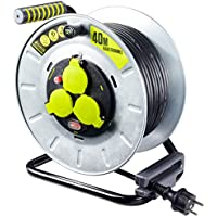 3000 W 250 V grau // Pistazien gr/ün Masterplug OME25164SL-PX Rewind cord