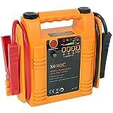 RAC Jump Starter - Heavy Duty 400 Amp Rechargeable - Orange/red