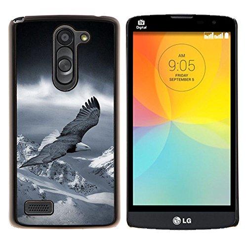 YiPhone /// Premium Slim Snap caso della copertura posteriore Armatura Shell - flying eagle l'America (Telaio Patriottico)