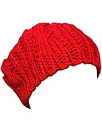 New Arrivals Lady Winter Warm Knitted Crochet Slouch Baggy Beret Beanie Hat Cap by Boolavard® TM