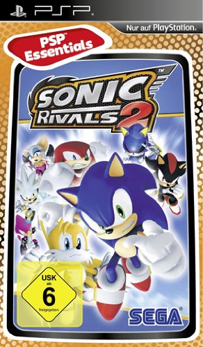 Sonic Rivals 2 [Essentials] - [Sony PSP] (Playstation 2-sonic)