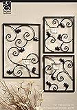 Hosley® - Set di portacandele da parete (3pezzi). Decorazione murale con candele a lumino per la casa, per aromaterapia o idea regalo