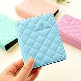 Shopizone Mini 36 Pockets Album for Instax Mini 8/9 / 9+ Accessory Travel Diary to Store Memories - Blue