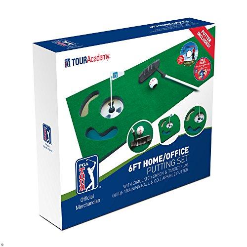 PGA TOUR Indoor Putting Set – Putting Matte mit Putter - 6