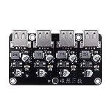 12V 24V 4 USB di ricarica rapida bordo del modulo di 12V24V a QC2.0 QC3.0 Step Down alimentatore ad alta efficienza del modulo Accessori Descrizione: Strumenti per la lavorazione del legno per uso dom