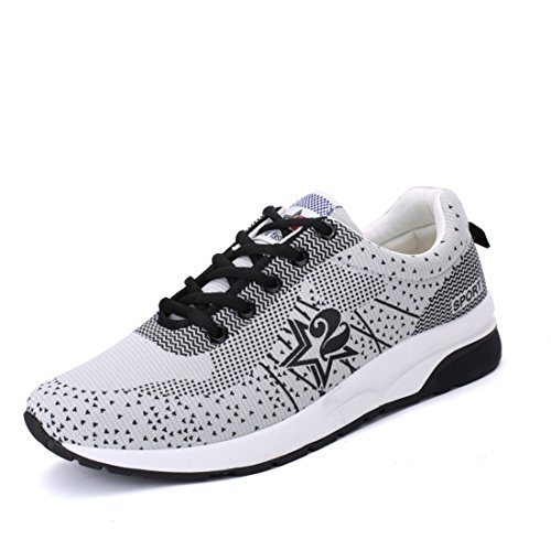 Men's Mesh Masculino Lightweight Breathable Tennis Shoes white