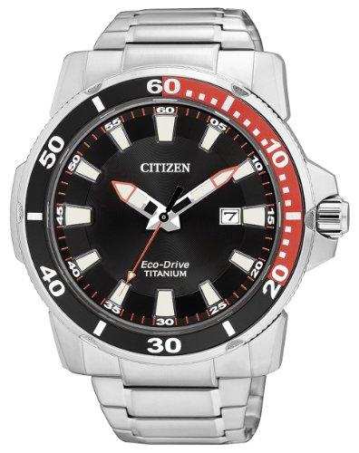 Citizen sport titanio eco drive aw1221-51e - orologio da polso uomo