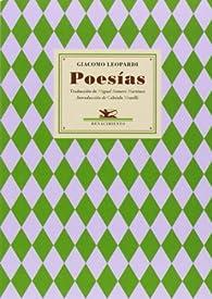 Poesías par Giacomo Leopardi