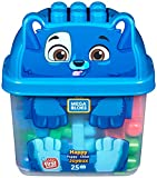 Mega Bloks Perroblok, Bloques Construcción Juguetes Bebés 1 Año (Mattel GFH49)