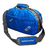 Hallucination Unisex Gym Bag for Men & Women (Blue) Sports Bag Duffel Bag