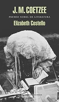 Elizabeth Costello par J.M. Coetzee