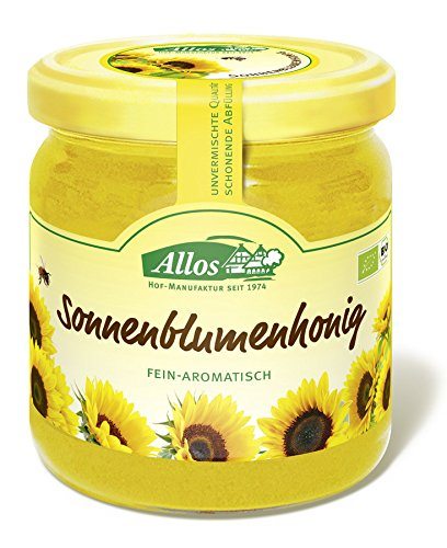Allos Bio Sonnenblumenhonig (1 x 500 gr)