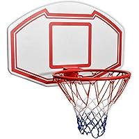 Genérico. Juego de aros para jardín, baloncesto, red de pared de tres piezas para montar en la pared al aire libre o en la pared