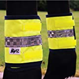 reflective leg bands (set of 4) - yellow