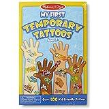 Melissa & Doug My First Temporary Tattoos - Blue [Toy]