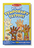 Melissa & Doug My First Temporary Tattoos - Blue [Toy]