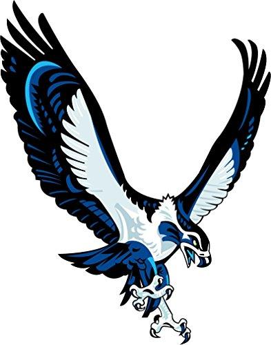 skyhighprint - Seattle Seahawks NFL Fußball-Deko-Aufkleber, Vinyl, 27,9 x 35,6 cm