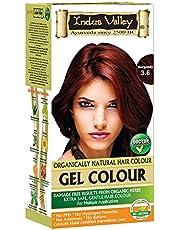 Indus Valley Organic Herb and PHAB Devoid Hair Colour Burgu