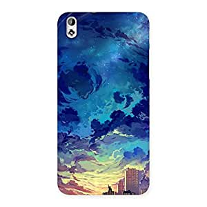 Stylish Cloud Art Back Case Cover for HTC Desire 816s