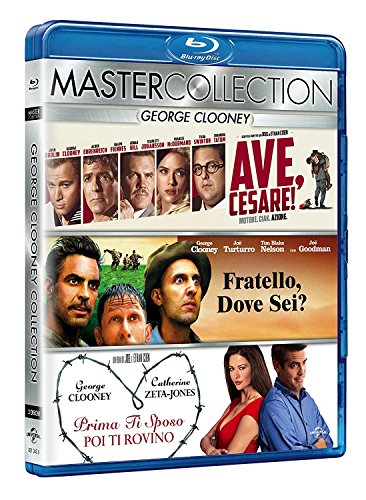 George Clooney Master Collection (3 Blu-Ray)