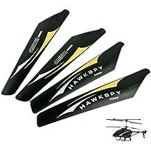 Original Rotorblätter für Hawkspy LT-711 Hubschrauber, Helikopter, Neu