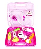 #9: Aaryan Enterprise Kids Plastic Play Toy Doctor Set With Light Sound Effects (Pink)
