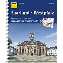 ADAC Stadtatlas Saarland Westpfalz Luxemburg sud, Obermosel: 1:20 000 (ADAC Stadtatlanten 1:20.000)