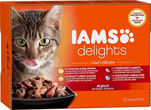 iams-terre-land-collection-nourriture-humide-en-gelee-pour-chat-adulte-toutes-les-races-12-sachets-x