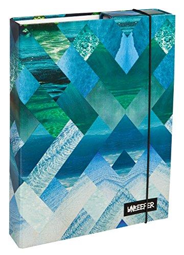 Undercover UNBS0940 - Heftbox Surf's Up A4, 32 x 24 x 4 cm