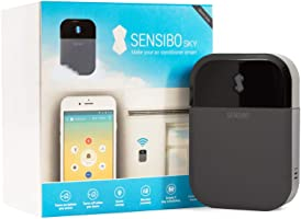 Controlador de aire acondicionado Sensibo Sky, Wi-Fi, compatible con iOS y Android. Compatible con Amazon Alexa y Google...