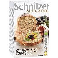 Schnitzer glutenfree Bio Rustico+Amaranth, 4er Pack (4 x 500 g)