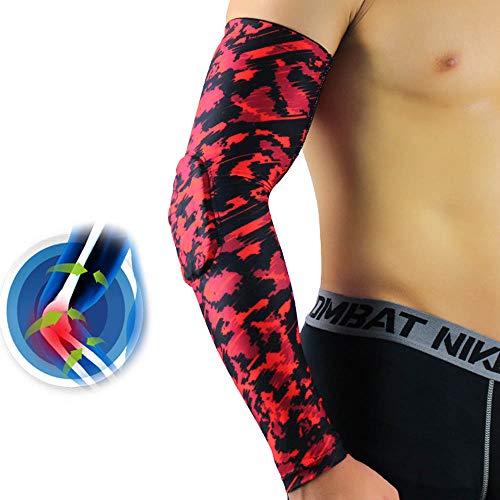 SJF Armkompressionsmanschette, Armstützen, UV-Sonnenschutz-Armstützen für Jugendliche und Erwachsene, geeignet für Basketball, Fußball, Golf, Radfahren, Laufen - Nike Dri-fit-golf Langarm