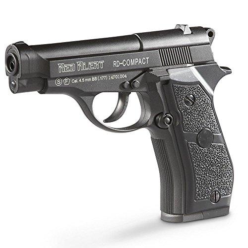 Pistola de CO2 Gamo Red Alert RD Compact de balines bbs de acero