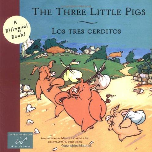 The Three Little Pigs/Los Tres Cerditos (Bilingual Fairy Tales (Paperback)) por Merce Escardo I Bas