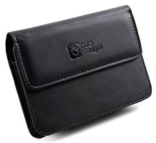 DURAGADGET Elegante Schutz-Tasche mit Gürtelschlaufe für Garmin DriveLuxe 50LMTHD und Becker Ready 5 EU Plus Navigationssysteme -