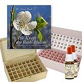 Komplettes Bachblüten Apothekenset 10ml: Alle 38 Bachblüten Stockbottles und 2x