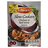 Slow Cookers Chicken in Red Wine Recipe Mix 35g