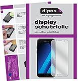 dipos I 2X Schutzfolie klar passend für Samsung Galaxy A5 (2017) Folie Bildschirmschutzfolie