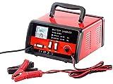 Lescars NX-3042 Automatisches Profi-Batterieladegerät 12/24 V, Rot