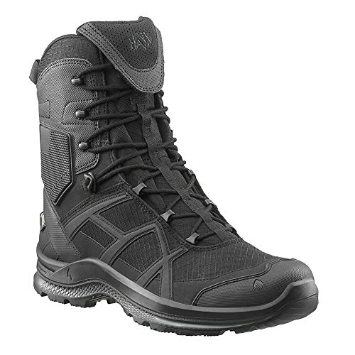 Haix Black Eagle Athletic 2.1 GTX high/Black NEU: Optimiertes Design - Mikrofaser-/Textil-Stiefel mit Gore-TEX. 42 -