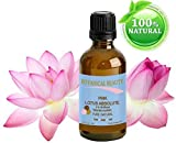 Botanical Beauty Pink Lotus Absolute Pure / Natural 3% Oil Blend. 0.17 Fl oz - 5ml. 'One Of The Best Anti Aging Oils To Regenerate And Restore Skin Strength. The Pink Lotus Flower Is A Symbol Of Awakening And The Goddess Of Wealth'.