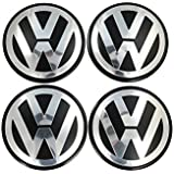 Votex–Volkswagen Touareg, Transporter–70mm rueda centro tapacubos tapas–Número de pieza 7L6–601–149B (4piezas)