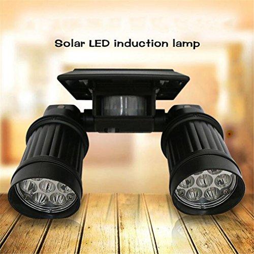 TTYY Lumières Solaires Lampes D'extérieur Lampes De Jardin Pelouse Imperméable