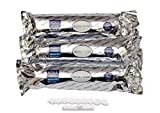 #10: Inline Filter Set Compatible with Reviva & Other water purifiers with 2 Carbon Filters, 1 Sediment Filters , 1 Free FR-450