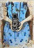 Posterlounge Alu Dibond 120 x 170 cm: Ferienaufnahmen von Loui Jover