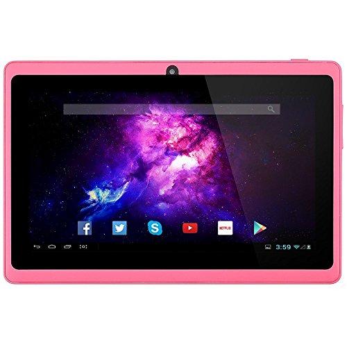 Alldaymall-A88X-Tablet-178-cm-7-Zoll-PC-Android-44-Quad-Core-HD-1024x600-Dual-Kamera-Bluetooth-Wi-Fi-8GB-mit-Spezialangeboten-Pink