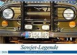 Sowjet-Legende - Der Geländewagen UAZ-469 in Kuba (Tischkalender 2020 DIN A5 quer): Der Geländewagen UAZ-469 aus Uljanowsk in Kuba (Monatskalender, 14 Seiten ) (CALVENDO Technologie)
