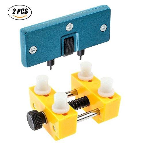 Uhr Zurück-tool (Uhr Einstellbare Opener Zurück Fall Presse Näher Entferner Uhr Tool Kit Reparatur Remover Halter Werkzeug)